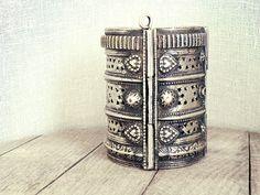 Bedouin bracelet antique bracelet Afghan jewelry by CarmelaRosa