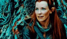 Abroad in the Woodland Realm ~ Tauriel