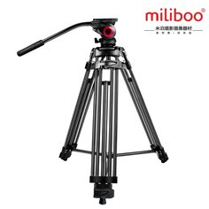 159.00$  Watch here - http://alipys.worldwells.pw/go.php?t=32789056572 - miliboo MTT601A Professional Portable  Aluminium Camera Camcorder Tripod for Video /DSLR Camera Stand,with Hydraulic Head Ball
