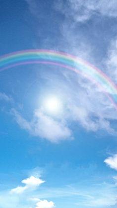 thursday - on the house - 運気アップ Rainbow Wallpaper, Pastel Wallpaper, Cute Wallpaper Backgrounds, Wallpaper Iphone Cute, Tumblr Wallpaper, Cute Wallpapers, Rainbow Aesthetic, Sky Aesthetic, Tumblr Sky