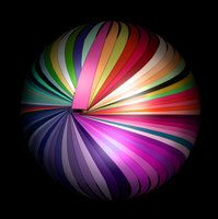 Digital Color Ball -2 by joeferrara