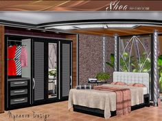 Shea Bedroom by Nynaeve Design - Sims 3 Downloads CC Caboodle