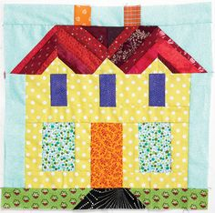 Bonnie Hunter Giveaway: Win this block made by Bonnie Hunter, a copy of Bonnie's latest book and scraps from her studio during Quiltmaker's Parade of Homes.