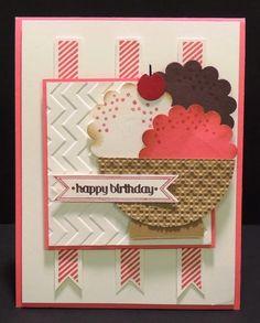 Blue Dahlia Designs: Happy Birthday Ice Cream Bowl