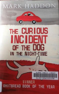 """""""The Curious Incident of the Dog in the Night-Time"""" by Mark Haddon. FABULOUS book for seeing through the eyes of a teenage boy with Asperger's. Great for both teachers and students."""