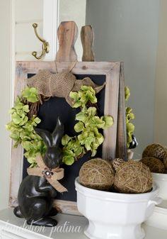 Tutorial to create this DIY rustic spring wreath using faux hydrangeas. (scheduled via http://www.tailwindapp.com?utm_source=pinterest&utm_medium=twpin&utm_content=post1303019&utm_campaign=scheduler_attribution)