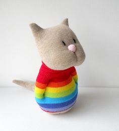 Awesome sock kitty!
