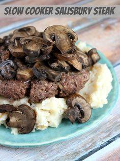 Stuff I've Gotta Share and You've Gotta See | Recipe Girl Salisbury Steak.