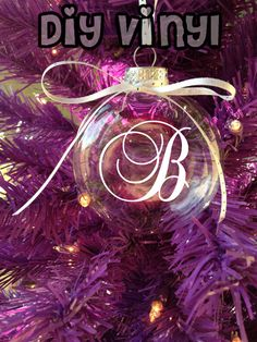 Personalized Christmas/Holiday Initial by smallvictorydesign