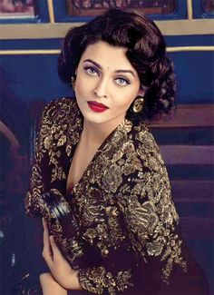 "nahinsamne: "" "" Aishwarya Rai for Conde Nast Traveller India "" """