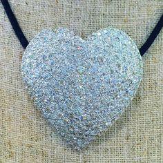 4.50 Carat Large Diamond Heart Necklace by BFJewelryEst1984