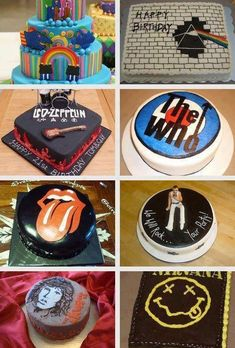 Band Cakes, More Delicious than Tees. For tickets to all your favourite bands - www.tikbuzz.co.uk