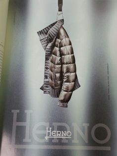 Herno sweater meets puffer. Choc