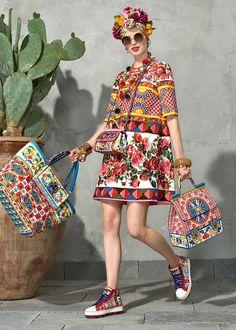 Lookbook весенне-летней коллекции 2017 от Dolce&Gabbana. Часть 1 - Ярмарка Мастеров - ручная работа, handmade