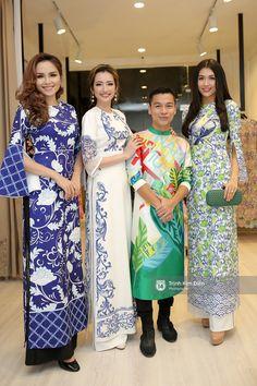 Phạm Hương, Chi Pu, Hạ Vi cùng dàn sao Việt khoe sắc trong tà áo dài duyên dáng - Ảnh 6.