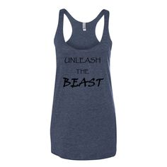 UNLEASH THE BEAST Women's tank top