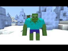 Mutant Zombie Boss in Minecraft Vanilla! - Minecraft Map - YouTube