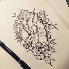 @which_ink_i_like Lovely sketch by ...Instagram photo | Websta (Webstagram)