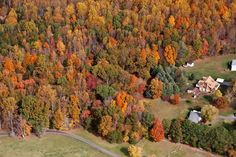 Lynchburg view from above. You don't get colors like this just anywhere.