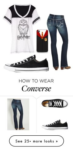 """""""Untitled #581"""" by alwaysapotter-head on Polyvore featuring Converse and maurices"""