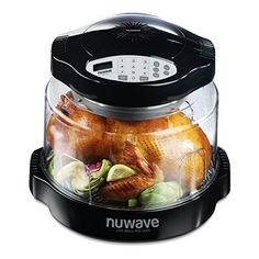 The NuWave 20631 Oven Pro takes advantage of Triple Combo Cooking Power to cook foods quickly and deliciously. It uses conduction heat, just like a conventional oven, convection heat, which circulates hot air around the food, and infrared heat, which penetrates food, cooking on the outside and... - http://kitchen-dining.bestselleroutlet.net/product-review-for-nuwave-20631-oven-pro-plus-black/