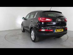 KIA SPORTAGE 2.0 CRDI KX-2 - Air Conditioning - Alloy Wheels - Half Leather Interior 4X4 | In black with 80000 miles on the clock. Click here to see the full ...