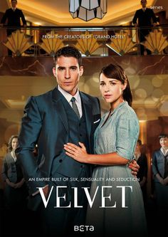 Galerias Velvet. Great Spanish tv series!