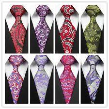 RED Purple Green White Flower Check Floral NEW Classic Silk MEN'S TIE Necktie | eBay