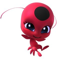 Tikki is a kwami that is connected to the Ladybug Miraculous, and with her power. Tikki is a kwami Ladybug Tikki, Miraclous Ladybug, Miraculous Ladybug Party, Miraculous Ladybug Wallpaper, Tikki Miraculous, Cumpleaños Lady Bug, Tikki Y Plagg, Ladybug And Cat Noir, Dark Blue Eyes