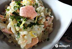 Lazacos rizottó Crossfit Diet, Potato Salad, Potatoes, Meat, Chicken, Cooking, Ethnic Recipes, Food, Minden