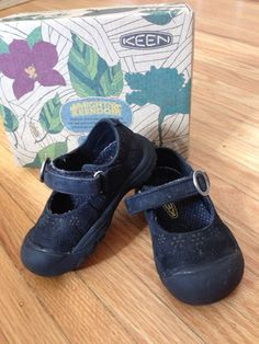 found on Kidizen: Keen Mary Jane Shoes.