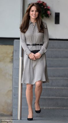The Duchess of Cambridge visited the Anna Freud Centre, which helps children with mental health issues, September 17, 2015.