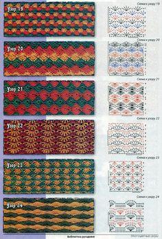 Berry Ripple / DROPS - Crochet DROPS skirt with fan pattern and stripes in Cotton Merino The piece is worked top down. Size: S - XXXL. Filet Crochet, Crochet Shawl Diagram, Crochet Motifs, Form Crochet, Crochet Stitches Patterns, Crochet Chart, Stitch Patterns, Knit Crochet, Crochet Decoration