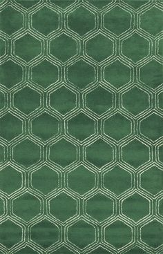 Pembroke Hand-Tufted Green Area Rug