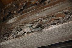 瑞泉寺の彫刻。