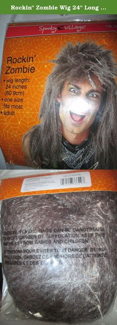 """Rockin"""" Zombie Wig 24"""" Long Adult. Rockin"""" Zombie Wig 24"""" Long One size fits most Adults."""