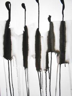 A3 OOAK Zen Black and White Ink Wash Painting by Manjuzaka on Etsy