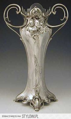 Art Nouveau vases, Germany, 1906. na Stylowi.pl