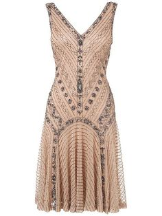 Gatsby beaded dress