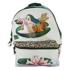 Disney Mammolo Zaino Sacca Scuola Passeggio Viaggio Idea Regalo Loto Verde   eBay