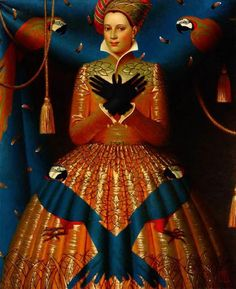 patternprints journal: AMAZING AND HIGH-REFINED PATTERNS INTO ANDREY REMNEV'S PAINTINGS
