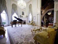 ideas for a living room with a grand piano...