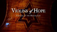 The efforts to restore violins recovered from the Holocaust. Adrien Brody, Close Caption, Academy Award Winners, Restore, Documentaries, Musicals, Neon Signs, Camps, Entertainment