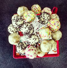 Candy Pops white chocolate