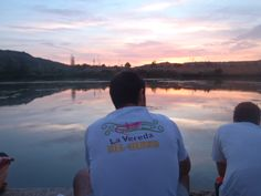 Viendo la puesta de sol en la última RioLuna.