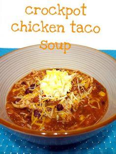 yummy chicken taco soup