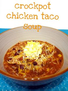 yummy chicken taco soup