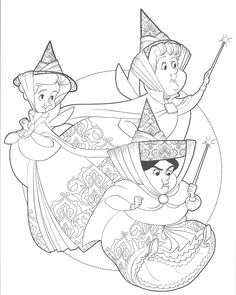 Coloring Pages for Adults Fairies - Coloring Pages for Adults Fairies, Fairy Coloring Pages for Adults Creation Coloring Pages, Fairy Coloring Pages, Cartoon Coloring Pages, Adult Coloring Pages, Coloring Books, Disney Princess Coloring Pages, Disney Princess Colors, Disney Colors, Sleeping Beauty Coloring Pages