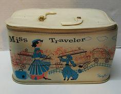 Vintage Miss Traveler Ponytail Carry Case Child's Bag or for Barbie Dolls | eBay