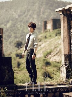 Jaejoong in India for Elle